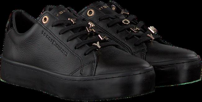 Zwarte TOMMY HILFIGER Sneakers TOMMY HARDWARE DRESS SNEAKER  - large