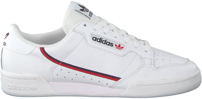 Witte ADIDAS Sneakers CONTINENTAL 80 MEN