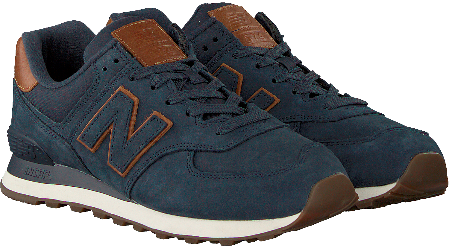 Blauwe NEW BALANCE Sneakers ML574 | Omoda