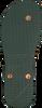 Groene UZURII Slippers BLACK FLOWER - small