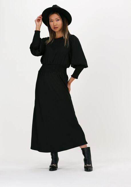 Zwarte BRUUNS BAZAAR Maxi jurk PRICKLY S ELLIEA DRESS - large