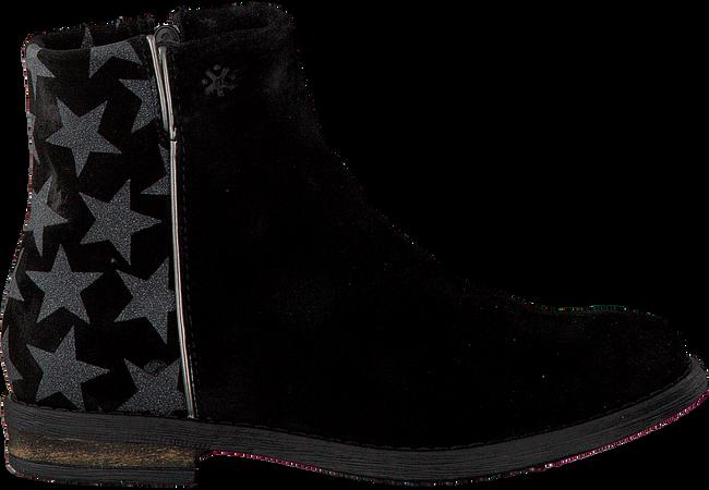 Zwarte ACEBO'S Enkellaarsjes 9513  - large