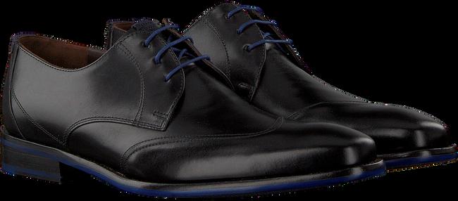 Zwarte FLORIS VAN BOMMEL Nette schoenen 18133  - large