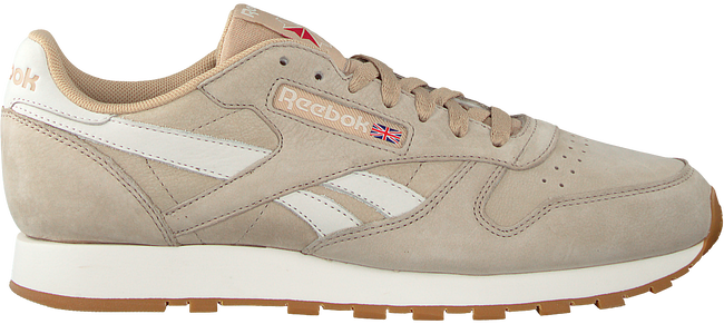 Beige REEBOK Sneakers CL LEATHER TL MEN - large