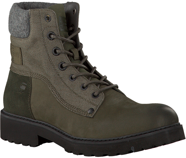 Groene G-STAR RAW Veterboots D06365  - large