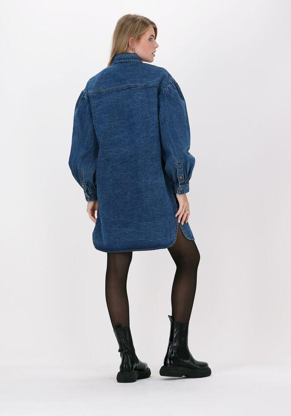 Blauwe MOVES Mini jurk LIPI - larger