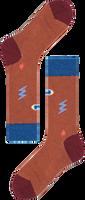 Bruin HAPPY SOCKS Sokken HYSTERIA LULU MID HIGH SOCK  - medium
