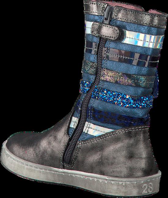 Zilveren SHOESME Lange laarzen UR7W047  - large