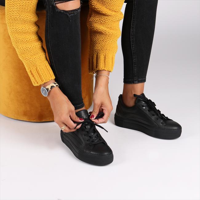 Zwarte FLORIS VAN BOMMEL Sneakers 85252 - large