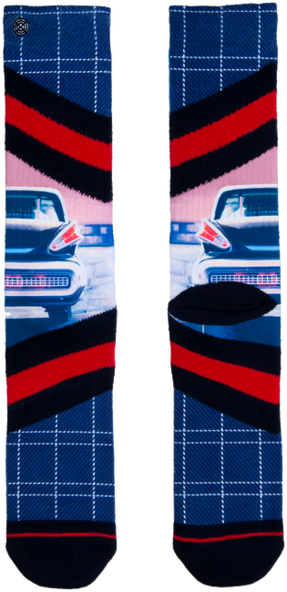 Blauwe XPOOOS Sokken CHROME  - large