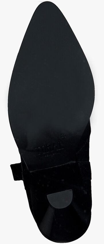 Zwarte TORAL Enkellaarsjes 12031  - larger