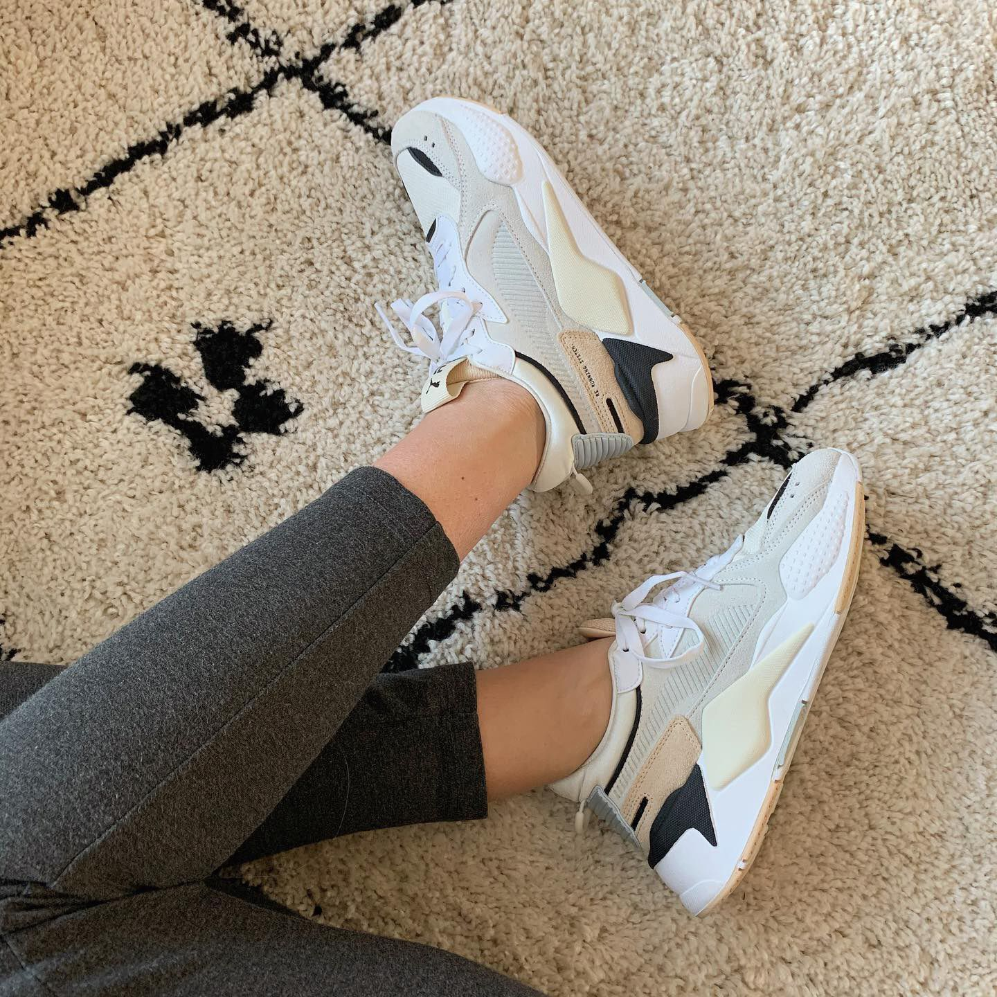 Witte PUMA Lage sneakers RS-X REINVENT WN'S | Omoda