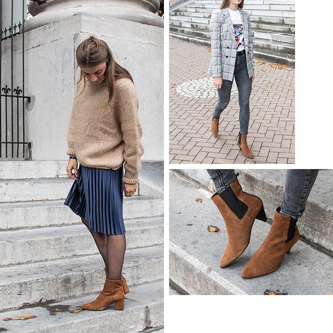 Enkellaarsjes Combineren Outfit Inspiratie Laarsjes