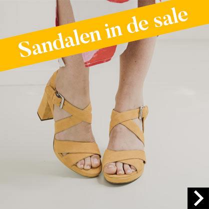 Sandalen in de sale