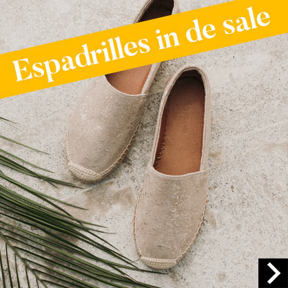 Espadrilles in de sale