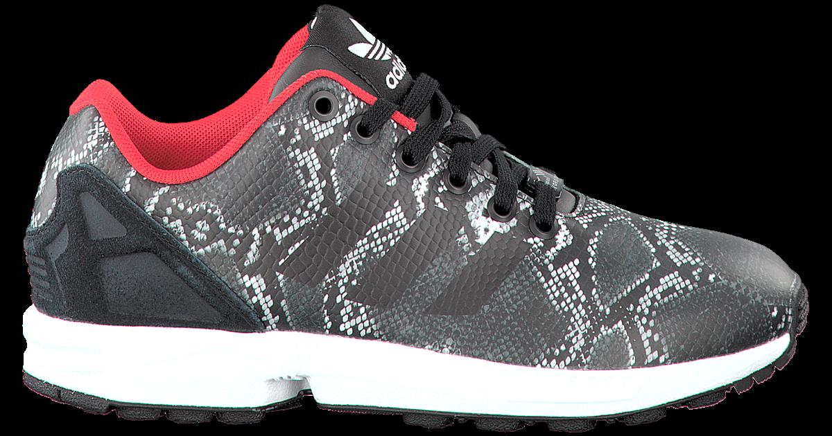 zwarte adidas sneakers zx flux dames - Omoda