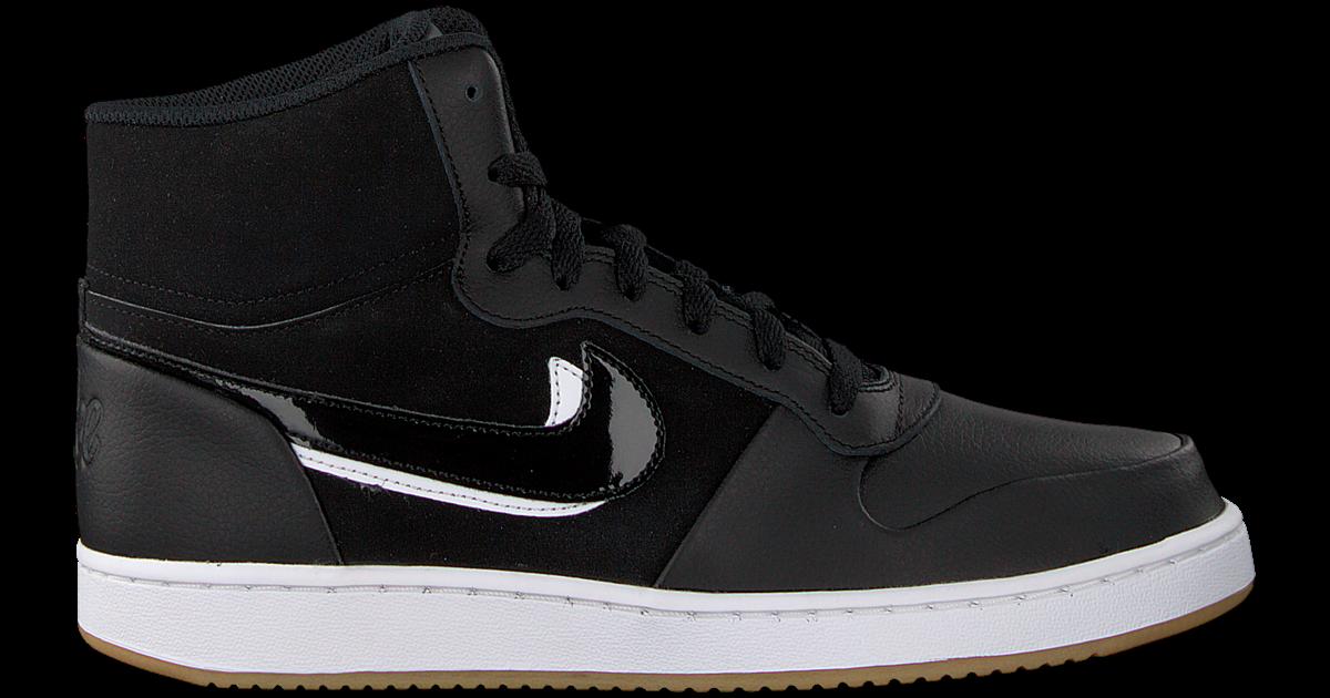 Zwarte NIKE Sneakers EBERNON MID PREM MEN Omoda