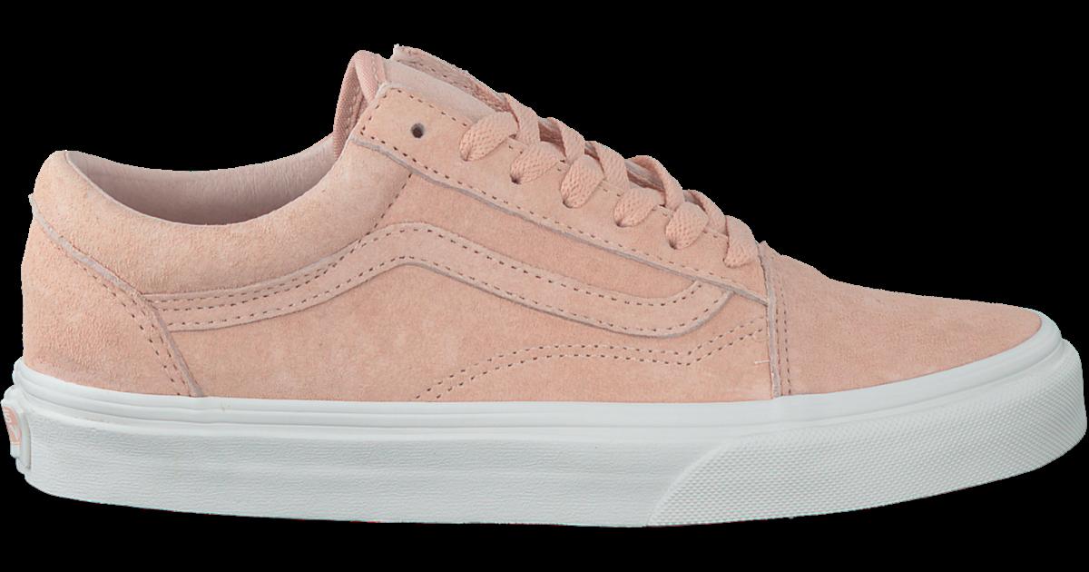 roze vans old skool premium