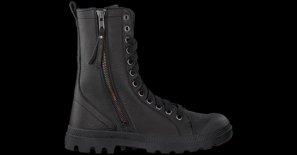 Zwarte PALLADIUM Lange laarzen PAMPA HI RISE | Omoda