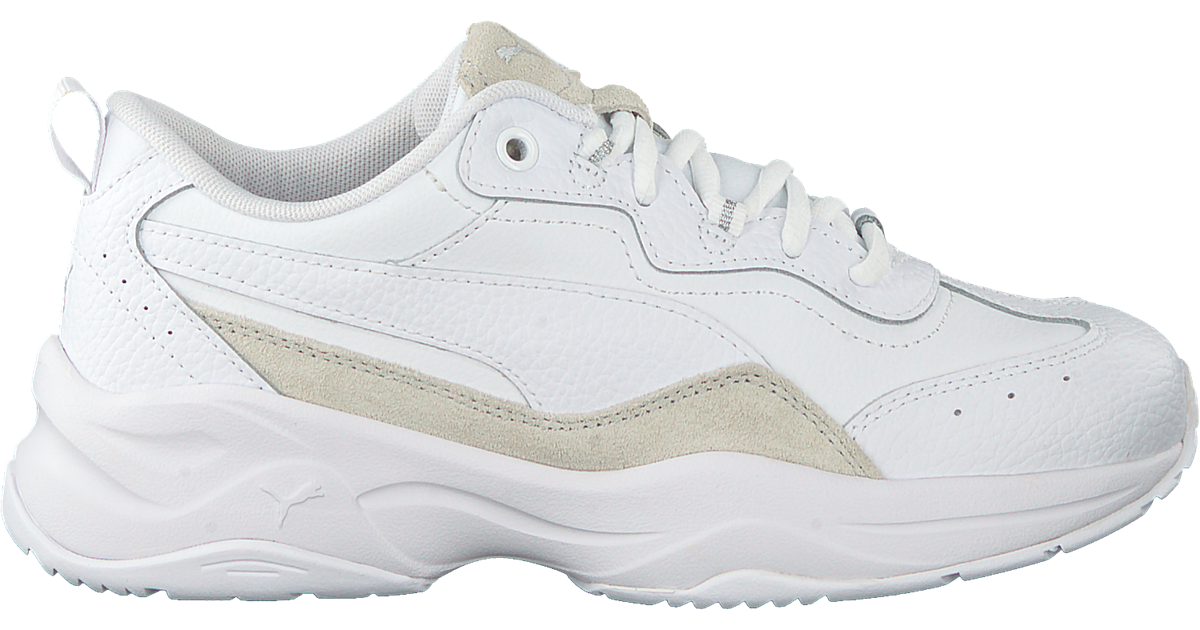 Witte PUMA Lage sneakers CILIA LUX - Omoda