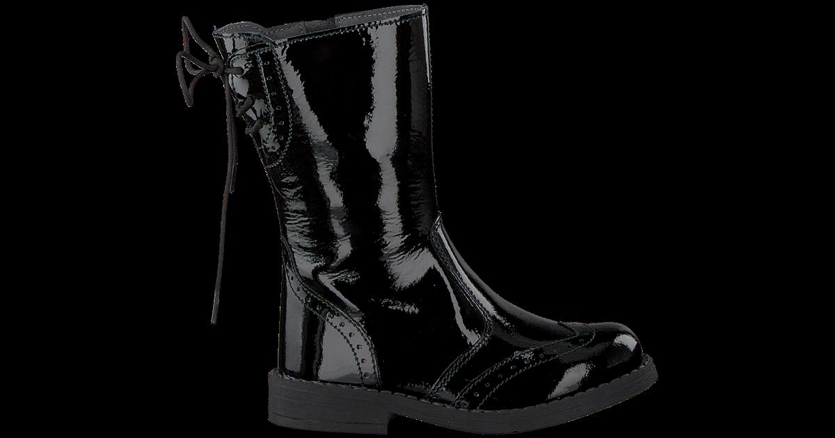 zwarte ton & ton lange laarzen mk2870d9i Omoda