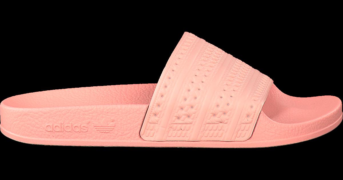 roze adidas slippers adilette dames - Omoda