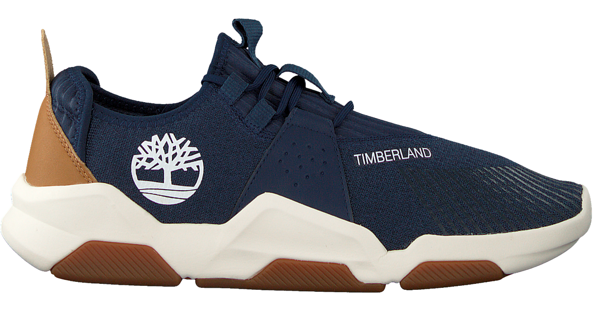 Blauwe TIMBERLAND Lage sneakers EARTH RALLY FLEXI KNIT OX Omoda