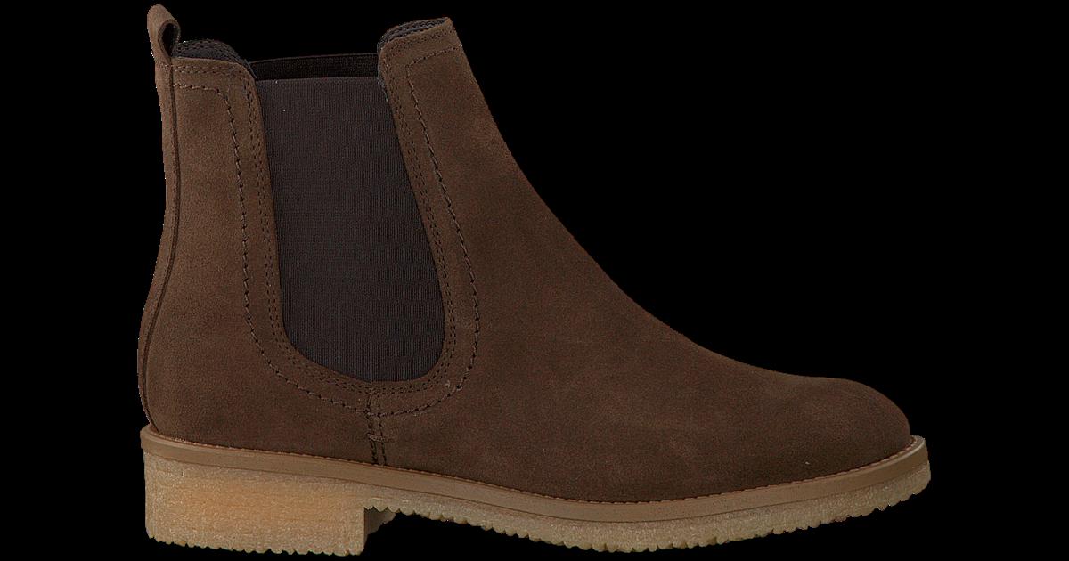 Bruine OMODA Chelsea boots 2160 Omoda